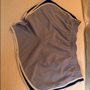 Nike Tempo Dry Fit Shorts in Light Blue Size 2X